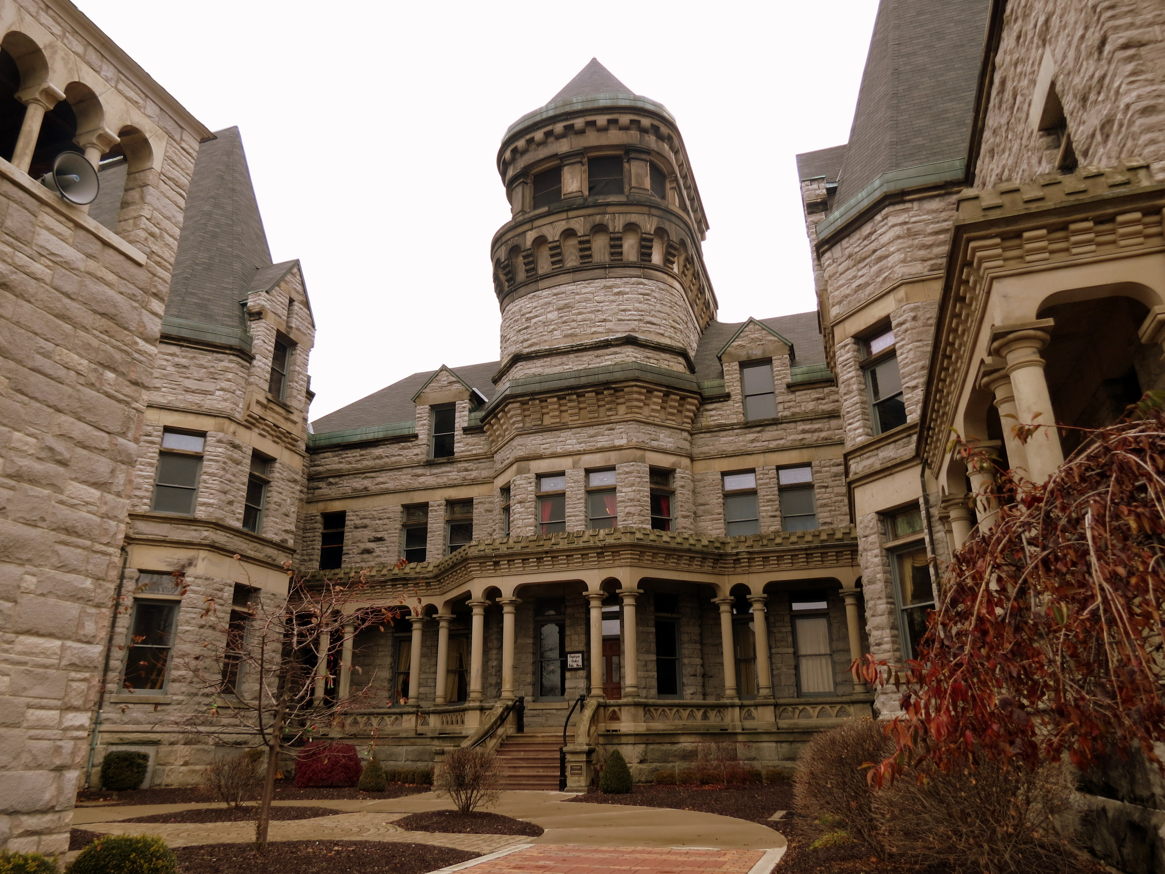 hunting for supernatural sprits in the ohio state reformatory in